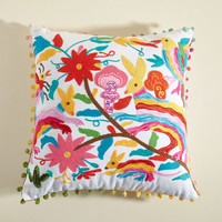 New Lease on Wildlife Pillow