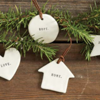 Rae Dunn Ornaments