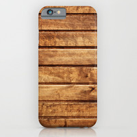 WOOD TEXTURE - for iphone iPhone & iPod Case by Simone Morana Cyla