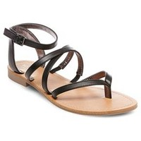 Women's Mai Thong Sandals - Mossimo Supply Co.™ Black 8