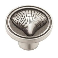 Liberty, Seaside Cottage 1-3/8 in. Brushed Satin Pewter Cabinet Knob-DISCONTINUED, 52715.0 at The Home Depot - Mobile