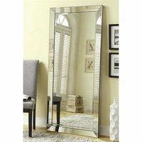 Coaster Fine Furniture 901813 Floor Mirror (901813), Silver