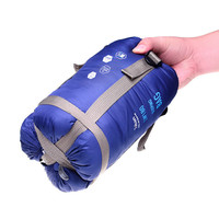 Ultra-light Portable Outdoor Envelope Sleeping Bag Cotton Spring Autumn Hiking Camping Sleeping Bags With Hat