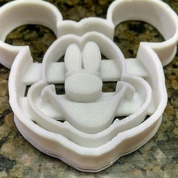 Disney Mickey Mouse Cookie Cutter. 3D printed