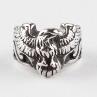 Anvil Eagle Ring Silver  In Sizes