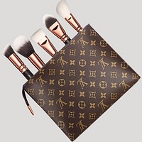 Louis Vuitton Women Men's  Makeup Bags Handbag Business Bag B