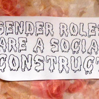 Gender Roles Are A Social Construct Spooky Sew On Patch