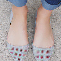 The Finer Points Flats - Dove Grey