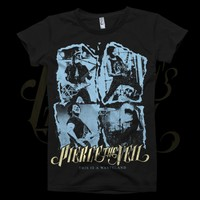 This Is A Wasteland Photo Black T-Shirt : FEAR : MerchNOW - Your Favorite Band Merch, Music and More