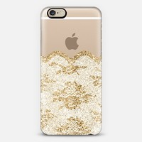 Faux Gold and White Romantic Lace iPhone 6 case by Organic Saturation | Casetify