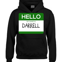 Hello My Name Is DARRELL v1-Hoodie