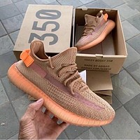 ADIDAS YEEZY 350 V2 luminous starry casual sneakers shoes-7