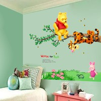 Winnie the Pooh Wall Decal Stickers For Kids Room