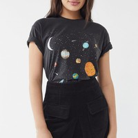 Outer Space Short Sleeve Tee | Urban Outfitters
