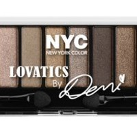 NYC New York Color Lovatics by Demi Eyeshadow Palette | Walmart.ca