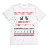 Meowy Christmas Cat Shirt