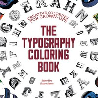 The Typography Coloring Book CLR