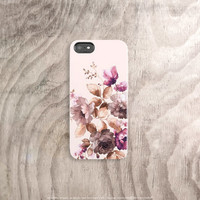 Fall iPhone Case Fall Floral iPhone 6 Case Autumn iPhone 6 Case Fall 2015 Watercolor iPhone 6 Case Fall Color iPhone Case Fall Samsung Cases