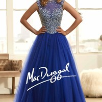 Mac Duggal Ball Gown 48225H from SIMPLE ELEGANCE