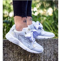Trendsetter PUMA Women  Casual Bow Running Sport Shoes Sneakers