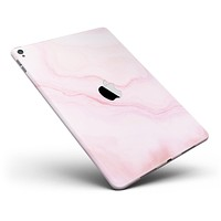 """Marble Surface V1 Pink Full Body Skin for the iPad Pro (12.9"""" or 9.7"""" available)"""