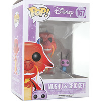 Funko Disney Mulan Pop! Mushu & Cricket Vinyl Figures