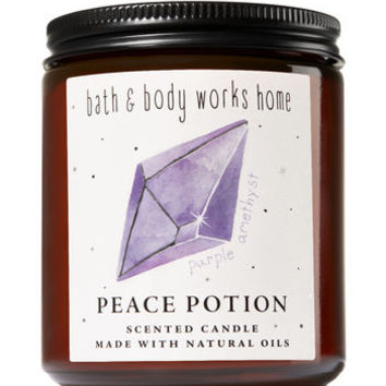 DARK AMETHYST & MUSKMedium Candle