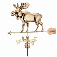 SheilaShrubs.com: Moose Weathervane - Polished Copper 957P by Good Directions: Weathervanes