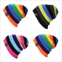 Patchwork Winter Skiing Knit Hats [8895135943]