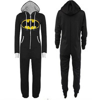 Batman Costume Cartoon Halloween Costumes Siamese clothes Jumpsuits Cartoon Animal Pajamas = 1927831172