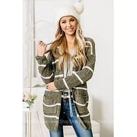 Keep It Casual Soft Knit Open Front Cardigan