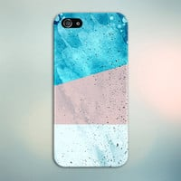 Blue x Pink x White Geometric Splash Case for iPhone 6 6 Plus iPhone 5 5s 5c 4 4s Samsung Galaxy s6 s5 s4 & s3 and Note 5 4 3 2