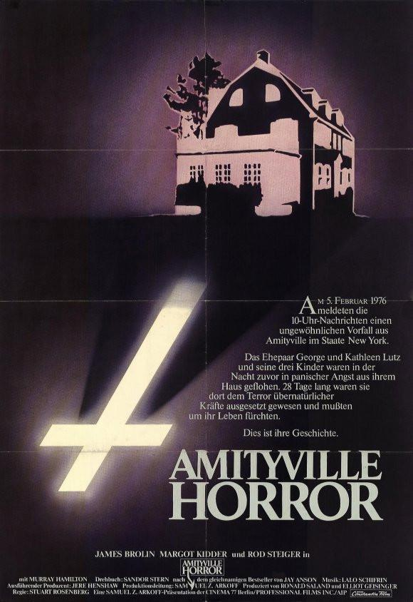 Image of The Amityville Horror (German) 11x17 Movie Poster (1979)