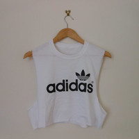classic back adidas swag style crop top tshirt fresh boss dope celebrity festival clothing 90's