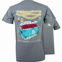 Southern Couture Preppy Crawfish Party Comfort Colors T-Shirt