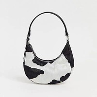 The Bella Cow Print Bag