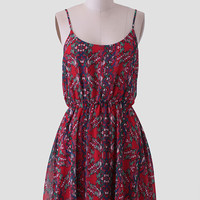 Scenic Route Printed Dress