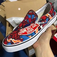 ANS Man Wei Spiderman Sport Casual Running Shoes