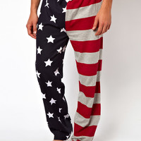 New Look | New Look Stars & Stripes Pajama Bottoms at ASOS