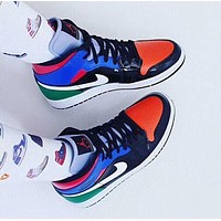 Air Jordan 1 Mid Casual All-match Sneakers Basketball Shoes