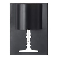 """Table Lamps For Living Room - 11.8"""" x 4.7"""" x 15.7"""" Black, Painted Metal, Wall Lamp"""