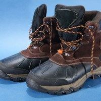 Men's Hiking Boots Size 11 Target  Brown & Black used winter work