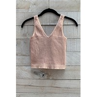 Easy Day Top- Peach