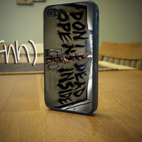 iPhone 4 4S Case Dont Open Dead Inside The Walking Dead by IFNH