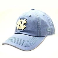 Licensed North Carolina Tar Heels Adult Adjustable Cotton Crew Hat Cap UNC TOW 313887 KO_19_1