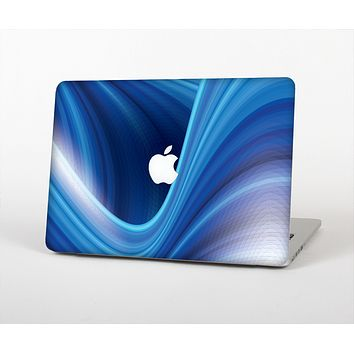 The Gradient Waves of Blue Skin for the Apple MacBook Air 13""