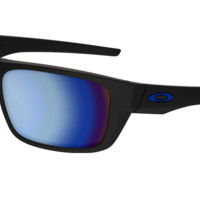 Oakley Drop Point Sunglasses - Matte Black - Prizm Deep H2O Polarized