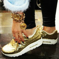 Metallic GOLD Nike Air Max 90