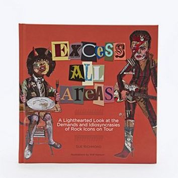Excess All Areas Book - Urban Outfitters