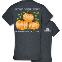 SALE Southern Couture Preppy Pumpkin Pickin Fall T-Shirt